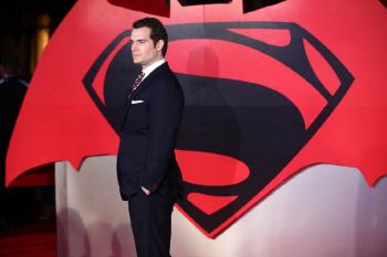 [포토] 헨리 카빌 `제가 슈퍼맨 입니다`