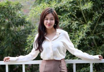 """['역도요정' 인터뷰]③경수진 """"리듬체조, 마냥 '예쁜 운동' 아니에요"""""""