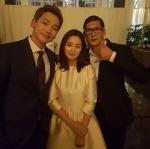 박준형, 비♥김태희 결혼식 참석