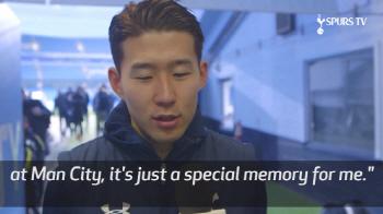 """손흥민 """"맨시티전 동점골…믿을 수 없어"""""""