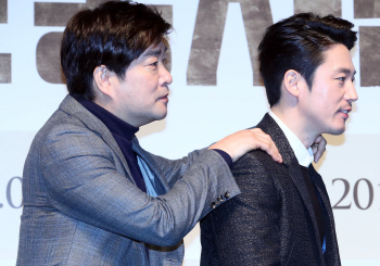[포토]손현주-장혁, '어깨가 무거워'