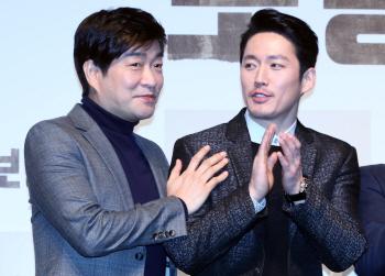 [포토]손현주-장혁, '둘이 함께라면'