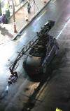 [포토] '블랙팬서' 촬영 특수차