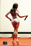 [포토] '머슬퀸' 최설화, 군인 앞에서 명품 몸매 과시