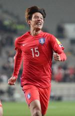 '홍정호 선제골' 한국, 시리아에 1-0 리드 전반전 마감