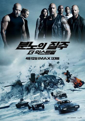 '분노의 질주:더 익스트림' 오늘(21일) 200만 돌파