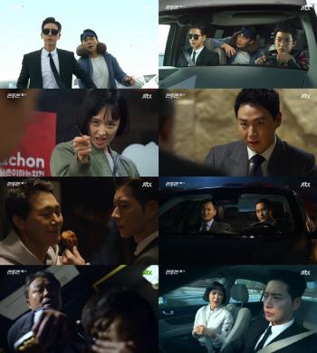 '맨투맨', 2회 연속 시청률 4%대…박해진X박성웅 '꿀케미'