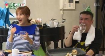 '미운우리새끼' 한영, 김건모와 핑크빛 분위기에 관심