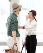 이상우♥김소연, 커플화보 찍으러 …'손 꼭 잡고 눈빛 교환'