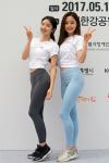 [포토] 최설화·김지민, 숨길 수 없는 '머슬퀸' 본능