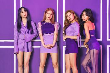 마마무, 새 미니앨범 '퍼플' 초동 판매량 4만장 육박