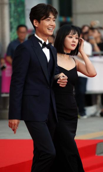 [포토]정경호-장나라 '부천영화제 사회'