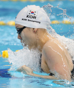 김서영, 세계수영 여자 개인혼영 200m 6위 선전