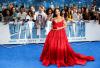 [포토]가수 리아나, 붉은색 드레스로 '섹시미 UP'