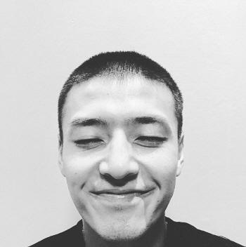"""'입대' 강하늘, 삭발 인증샷…""""웃으며 보내겠다"""""""