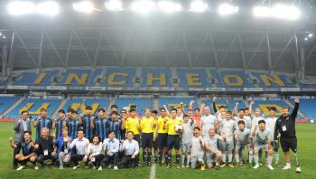 에버턴FC 장애인팀, 스페셜올림픽코리아과의 특별했던 경기