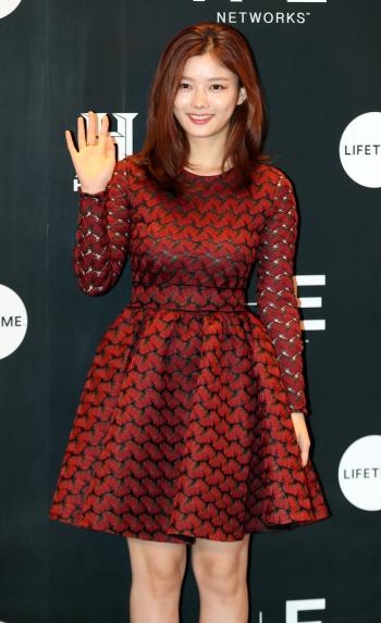 [포토]김유정, '여신의 인사'