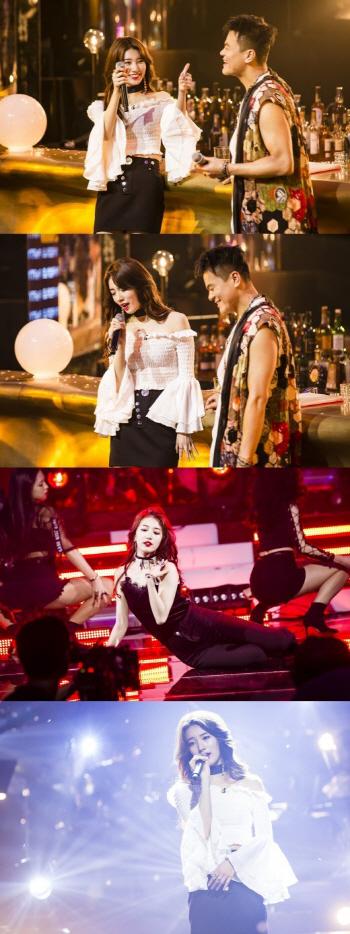 `파티피플` 박진영, 수지와 `안부` 듀엣 무대…`관심집중`