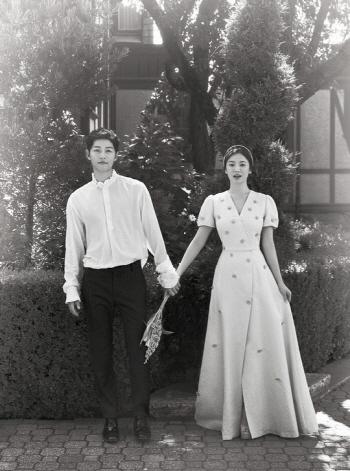[포토]송중기 송혜교 결혼.. 아름다운 신랑 신부