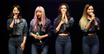 [포토]EXID, 네번째 미니앨범 'Full Moon' 발매기념 쇼케이스