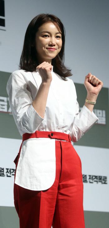 [포토]김옥빈 '1급기밀, 파이팅'