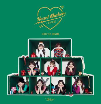 트와이스 '하트 셰이커' 해외 9개 지역 아이튠즈 1위