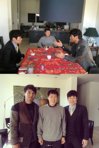 '투머치토커' 박찬호, 차범근·박지성도 못 말려?..'레전드 매치 토크'