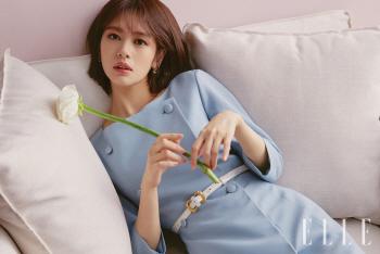 [포토]정소민, 꽃을 든 그녀