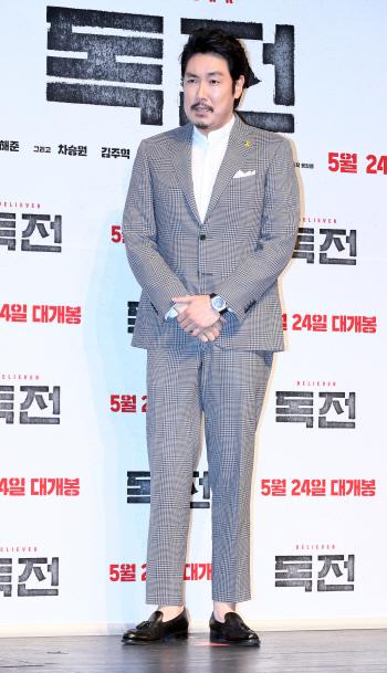 [포토]배우 조진웅, '제 연기 아시죠?'