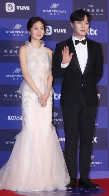 [포토]백진희-윤두준 '눈부신 커플'