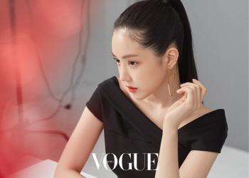 [포토]손나은, 올블랙 스타일