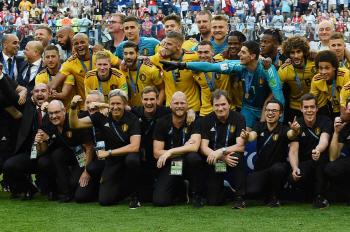 벨기에, 잉글랜드 꺾고 월드컵 역대 최고 3위 달성