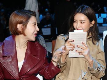 서인영-채정안,  미녀들의 수다