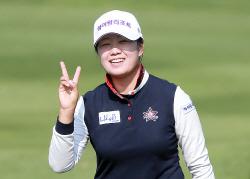 [포토] 박보미 'KB금융 스타챔피언십 우승 기대해주세요'