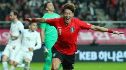 '6경기 6골' 황의조, A대표팀 원톱 자리 굳히기 나선다