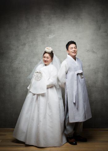 홍윤화♥김민기, 웨딩화보