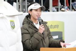 [포토] 홍재경 미녀 아나 '깔끔한 진행멘트'