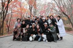 [포토] 오렌지라이프 챔피언스트로피 '불국사 어머님들과 촬칵'