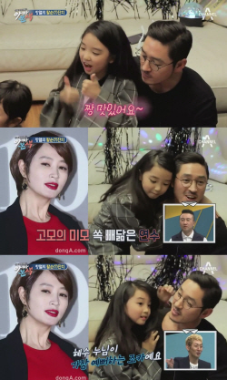 김동희 딸, 김혜수 조카다운 미모