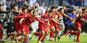 [아시안컵]'박항서 매직은 계속된다' 베트남, 요르단에 승부차기 승...亞컵 8강행