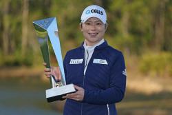 '32세 8개월' 지은희, LPGA 개막전서 한국인 최고령 우승