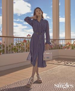 '임신 6개월' 김효진, 하와이서 변함없는 미모 과시