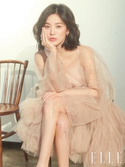 """송혜교 """"왕가위 감독님과 다시 한번 작업해보고파"""""""