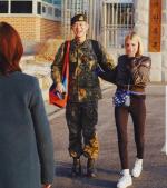 빈지노, 오늘 육군 만기 전역…♥스테파니 미초바와 눈물의 포옹