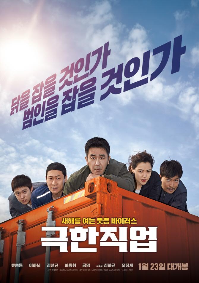 '극한직업' 역대 2위..순이익 제작비 7배