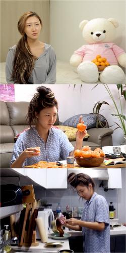 '먹방 요정' 화사, 이번엔 짜장…고품격 라면 레시피 공개