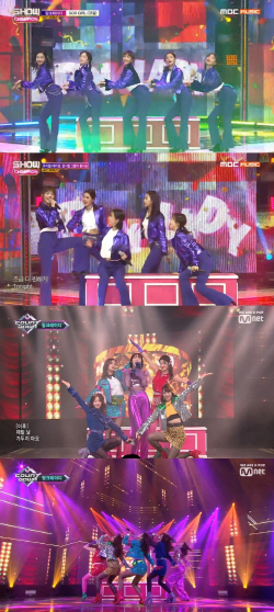 '팝시컬' 핑크레이디, 데뷔곡 'GOD GIRL'로 이미지 각인