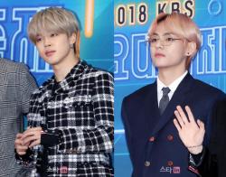방탄소년단 지민·뷔, 2월 보이그룹 개인 브랜드평판 1·2위