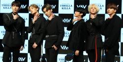 [포토]네번째 미니앨범 'Thrilla Killa'로 컴백한 'VAV'