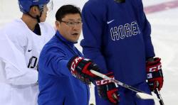 '백지선호' 남자 아이스하키 대표, 세계선수권 대비 훈련 돌입